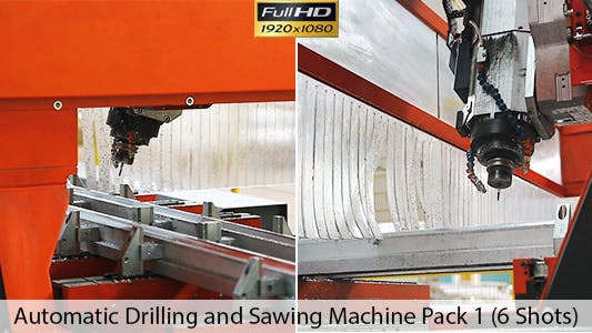 Thumbnail for Automatic Drilling and Sawing Machine