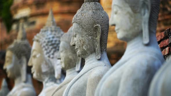 Thumbnail for Buddha Temple Sculptures