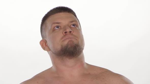 Thumbnail for Sadness Man. White