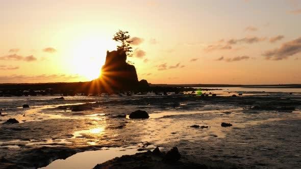 Thumbnail for Sunset at Siletz Bay, Lincoln City, Oregon
