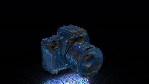 4k light camera animation