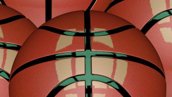 3D Animated Basketball