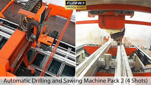 Cover Image for Factory - Robot Drilling and Sawing Machine