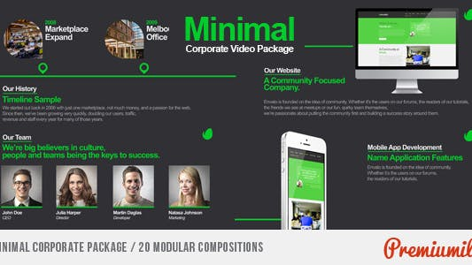 Minimal Corporate Package