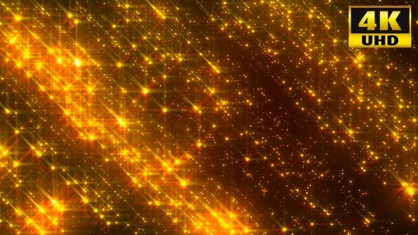 Cover Image for Particle Gold Loop 4k
