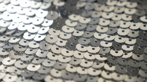 Sequins  sparkling fashion background high definition 4K UHD footage - Sparkle sequin pattern in 384