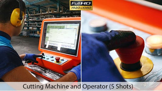 Thumbnail for Machine Metal Cutting  and Operator