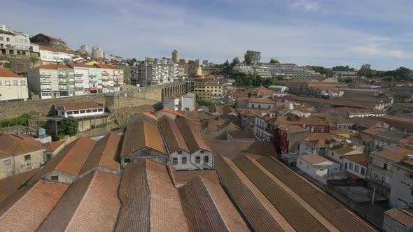 Thumbnail for Roofs in a district in Porto