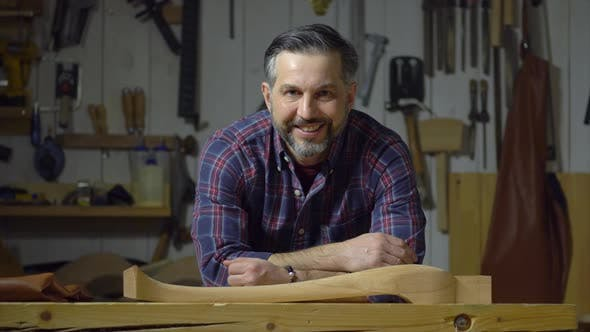 Thumbnail for Happy Carpenter Shows Cabrioli Leg