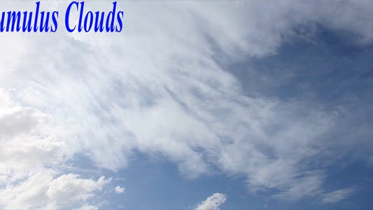 Thumbnail for Cumulus Clouds