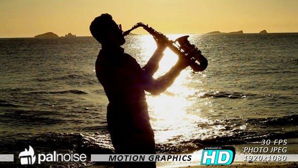 Thumbnail for Saxophonist Sunset
