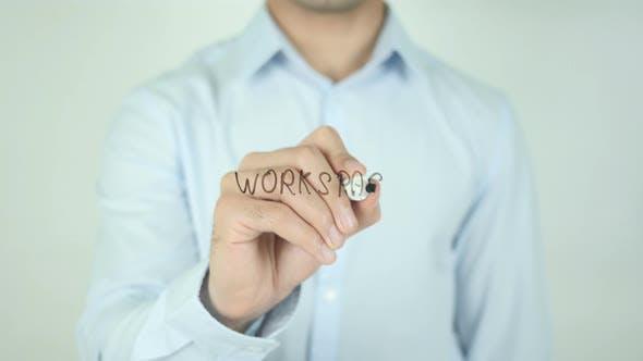 Thumbnail for Arbeitsbereich, Schreiben auf dem Bildschirm