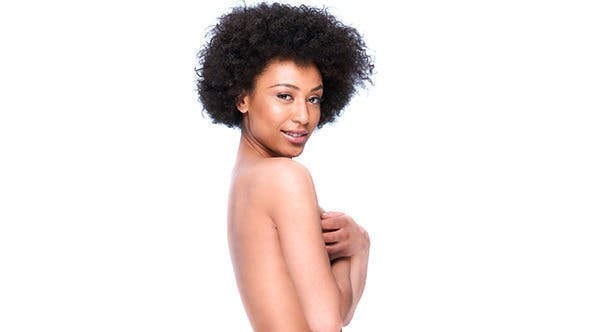 Thumbnail for Seductive Nude African American Woman