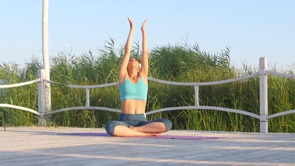 Thumbnail for Girl Meditates, Nature