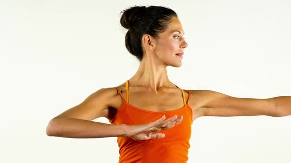 Thumbnail for yoga teacher poses on a white background