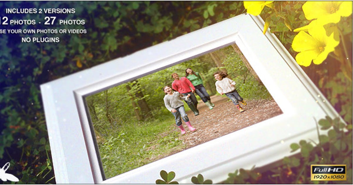 Download Spring Family Slideshow by Ultinato