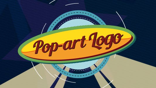 Thumbnail for Logo Pop-art ident