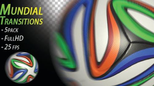 Soccer Ball - Mundial Transitions