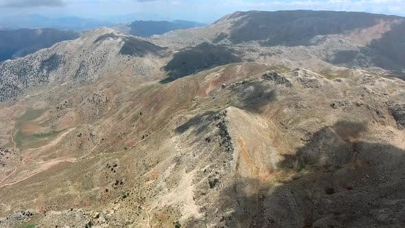 Treeless Mountain Topography