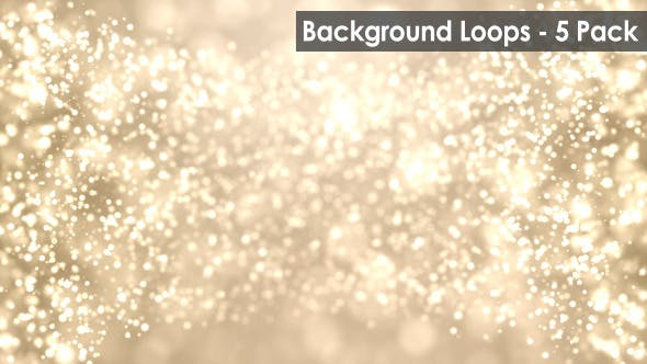 Thumbnail for Particle Flow Motion Background (5 Pack)