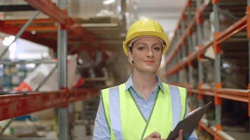 Female Factory Supervisor