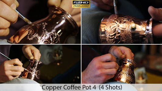 Thumbnail for Copper Coffee Pot