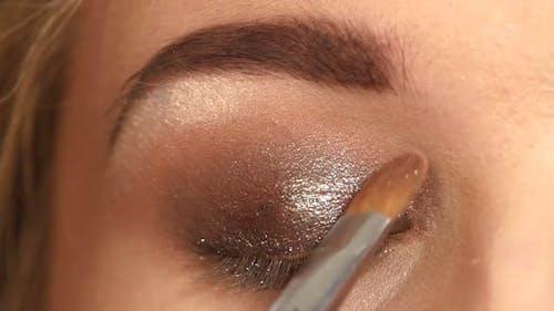 Makeup. Make-up, Eyeshadows, Eye Shadow Brush