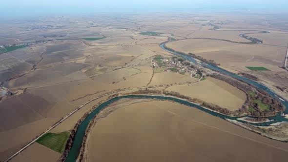 Thumbnail for Meandering River on Alluvial Plain