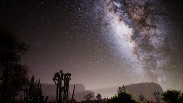 The Milky Way Above the Utah Desert, USA