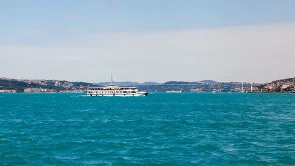 Thumbnail for Istanbul Turkey Timelapse on the Bosphorus Strait