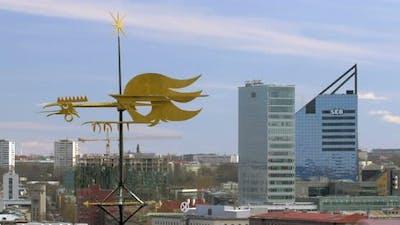 Daytime View of Tallinn