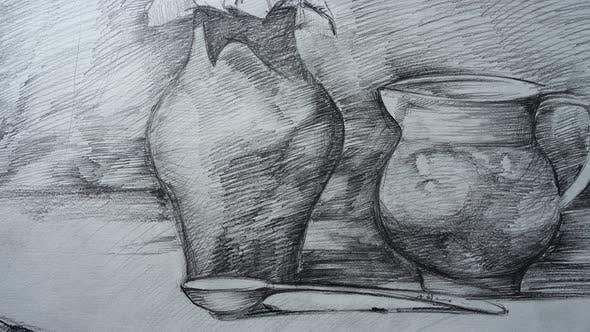 Thumbnail for Still Life form Jugs