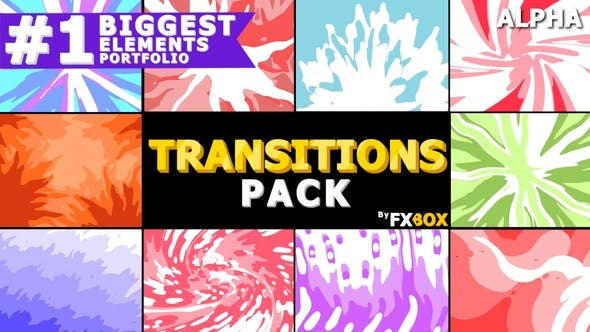 Thumbnail for Smooth Transitions | Motion Graphics Pack