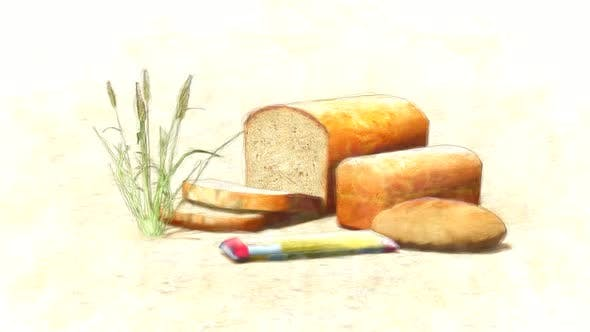 Bread Types and Wheat Stop Motion
