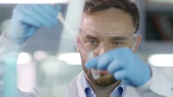 Thumbnail for Scientist Carrying out Research in Lab