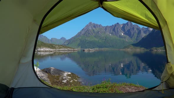 Thumbnail for A View of the Nature of Norway From the Tent