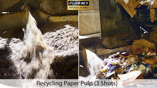 Thumbnail for Recycling Paper Pulp