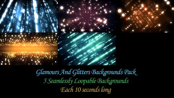 Thumbnail for Glamour And Glitters BG Pack