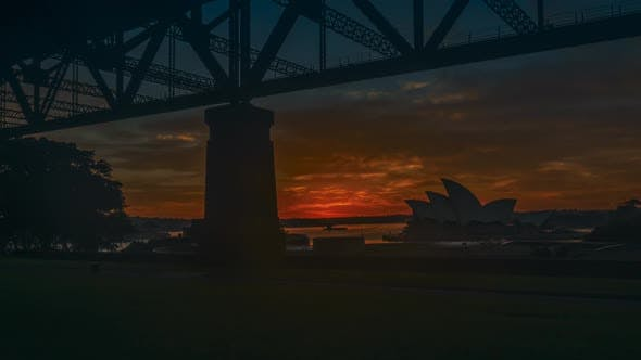 Thumbnail for Sydney Opera House timelapse at dawn