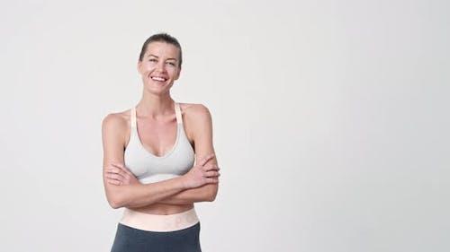 Sportswoman Smiling To Camera