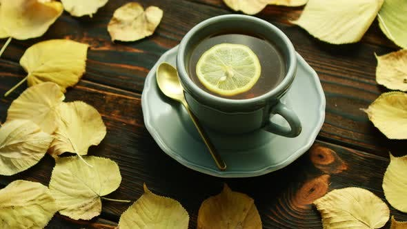 Thumbnail for Cup of Hot Tea with Lemon
