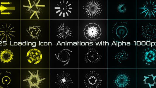 Thumbnail for Loading Icon Animations 02