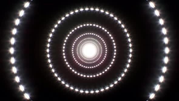 Kreis-Glitter-Licht 4K Schleife 02
