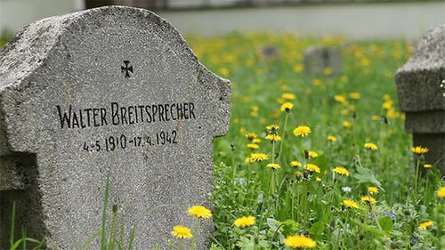 German WWII Soldier Tombstone