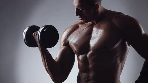 Bodybuilding Konzept