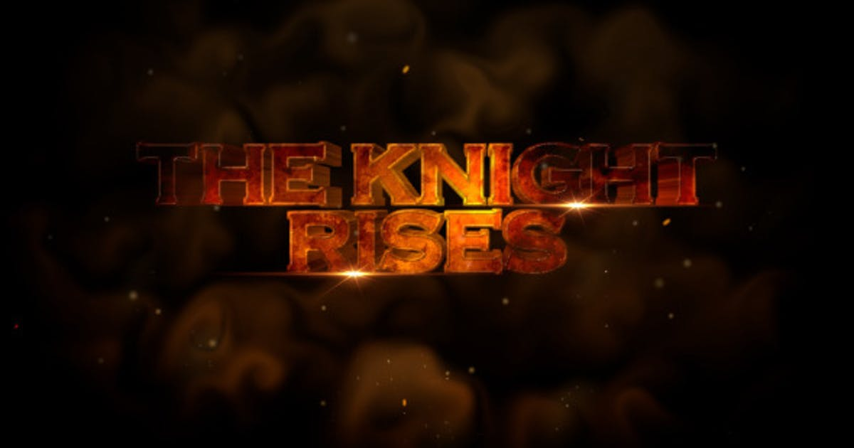 Download The Knight Rises Cinematic Trailer - Apple Motion by VProxy