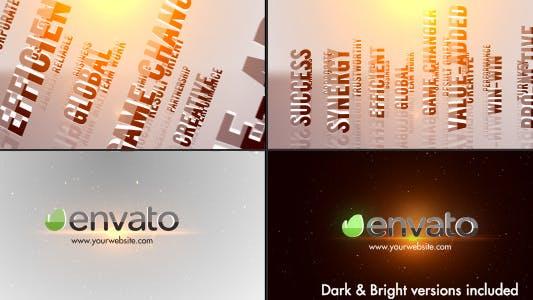 Thumbnail for Titres 3D Logo Entreprise