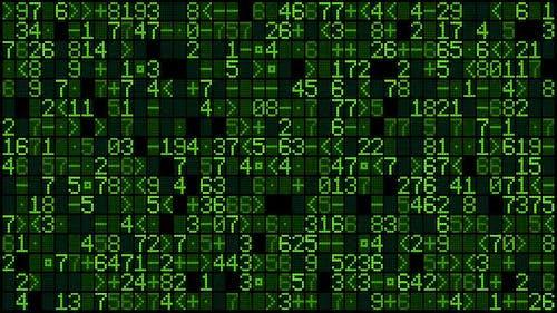 Digital Data Screen II