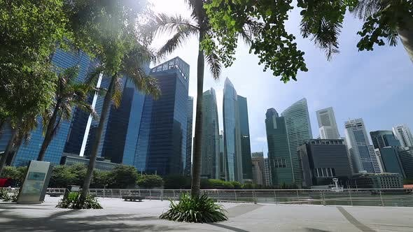 Thumbnail for Marina Bay and Skyscrapers of Singapore