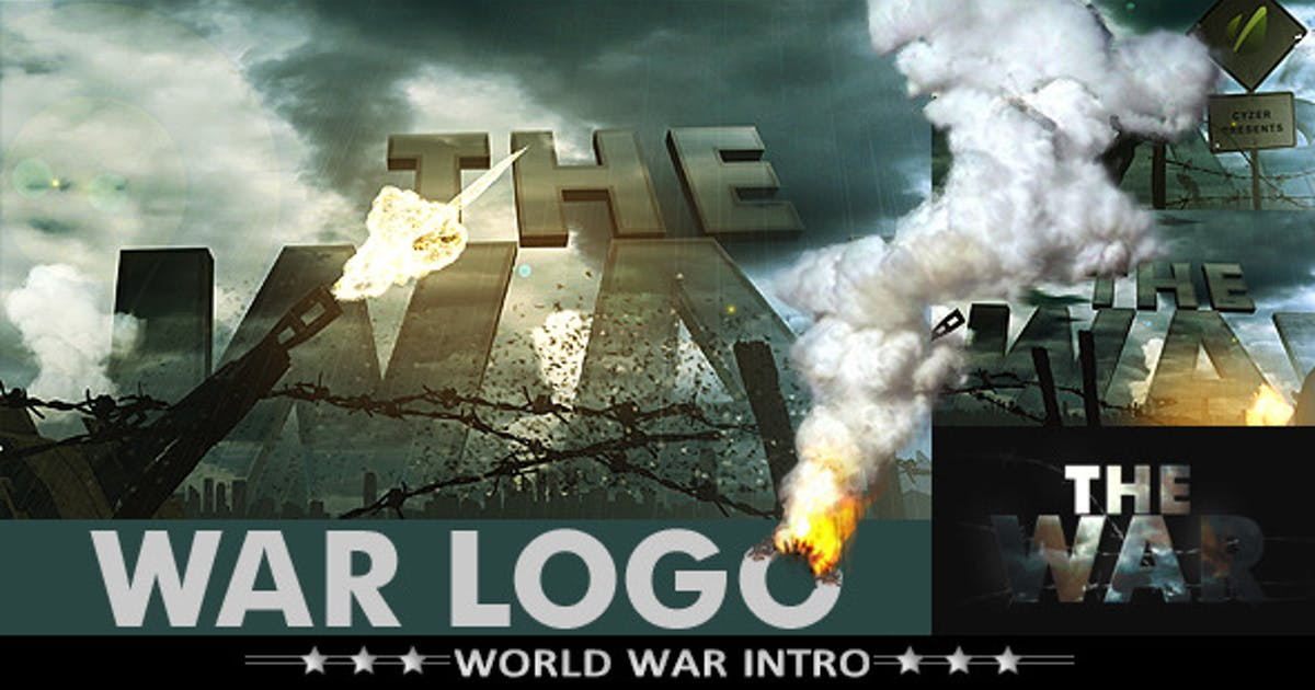 Download War Logo Opener - Realistic Military Intro by cyzer